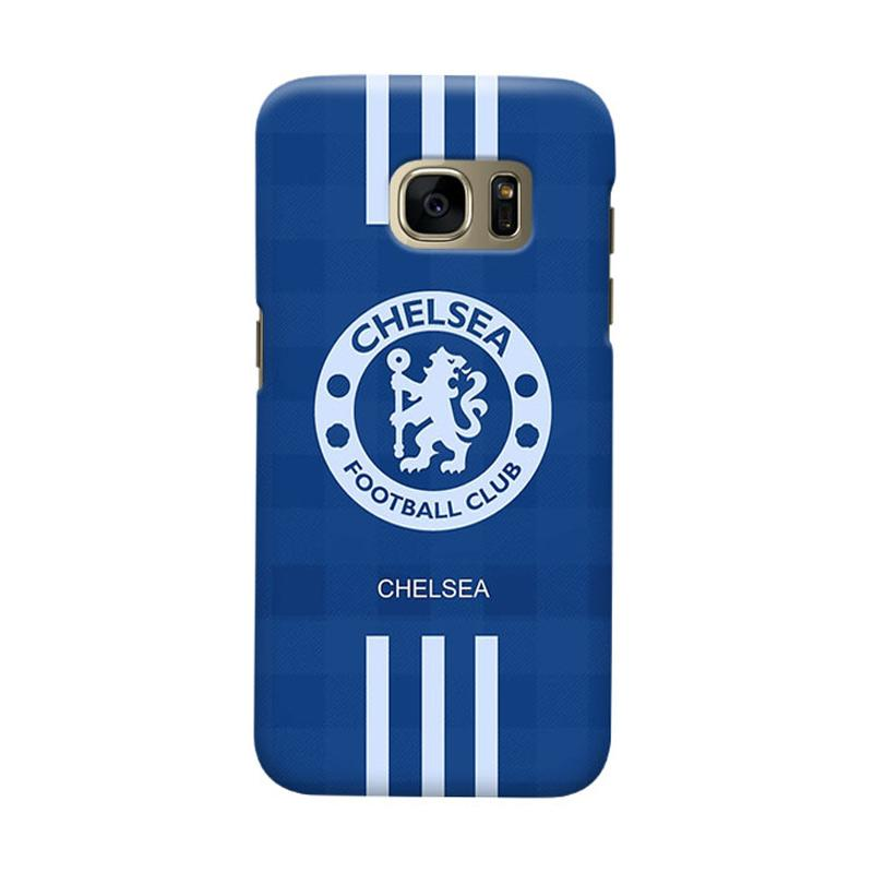 Indocustomcase Chelsea FC CFC06 Cover Casing for Samsung Galaxy S6