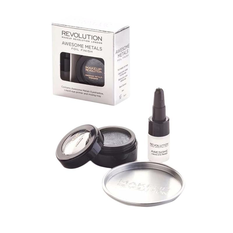 Makeup Revolution Awesome Metals Folls Black Diamond Eye Shadow