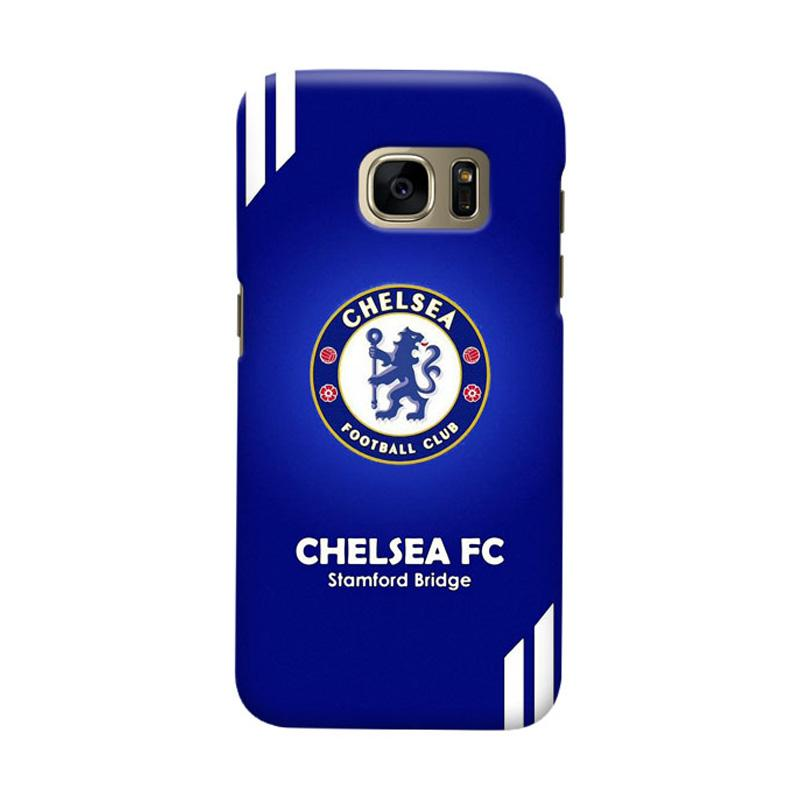 Indocustomcase Chelsea FC CFC07 Cover Casing for Samsung Galaxy S6
