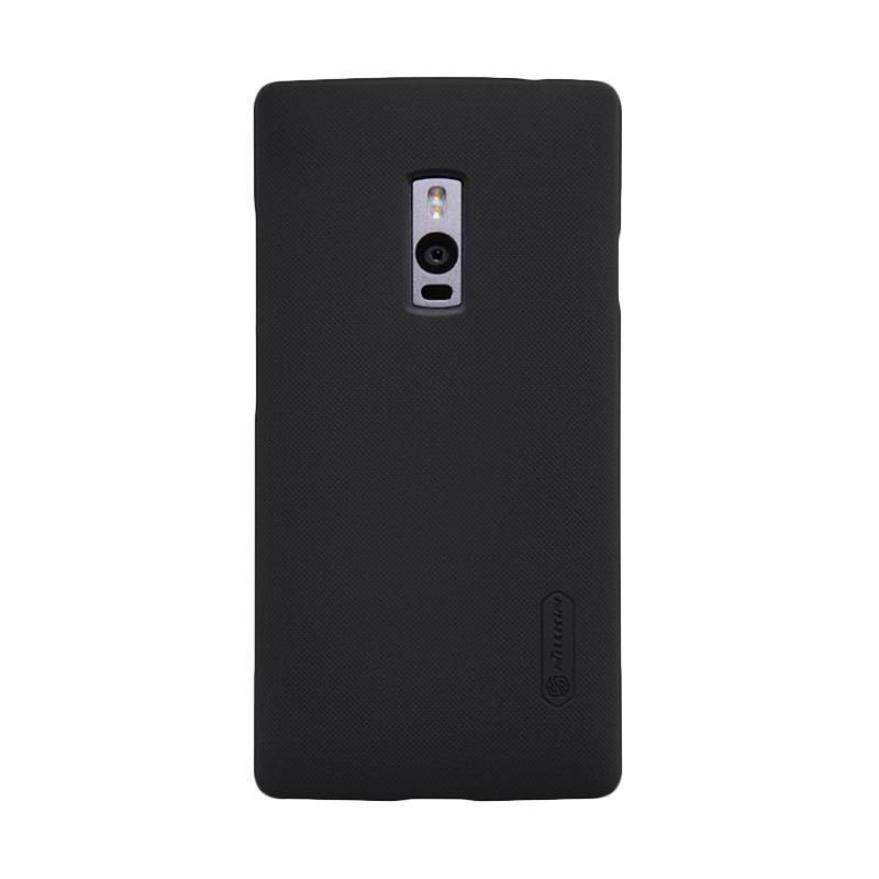 Nillkin Original Super Shield Hardcase Casing for OnePlus Two - Black [1 mm]