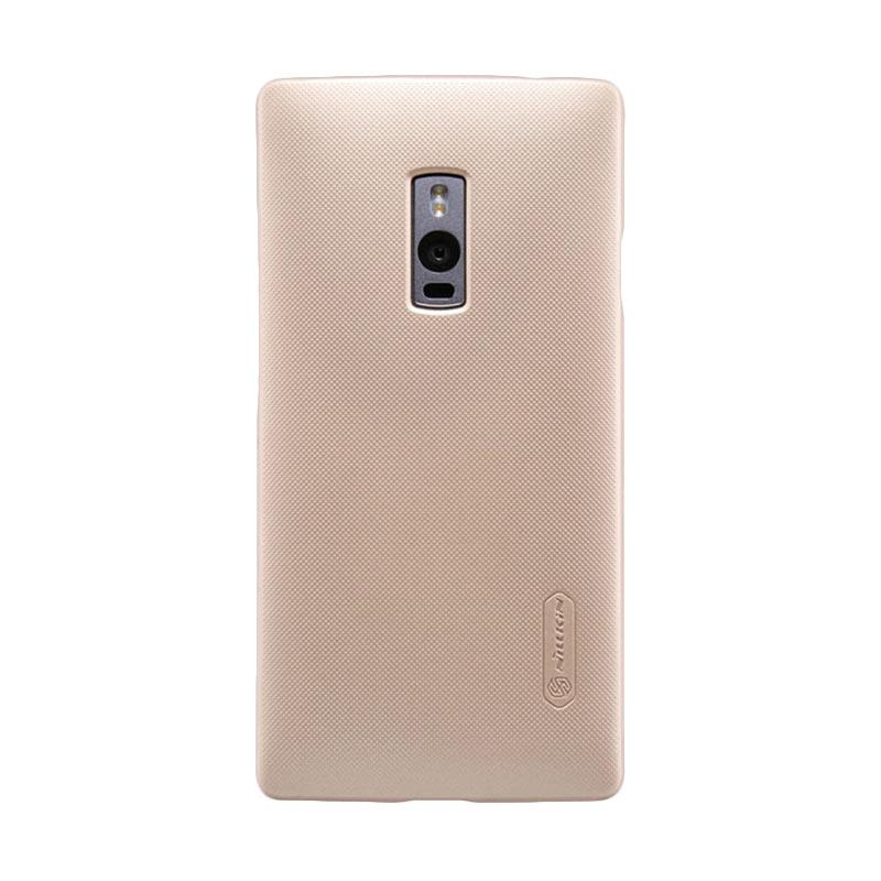 Nillkin Original Super Shield Hardcase Casing for OnePlus Two - Gold [1 mm]
