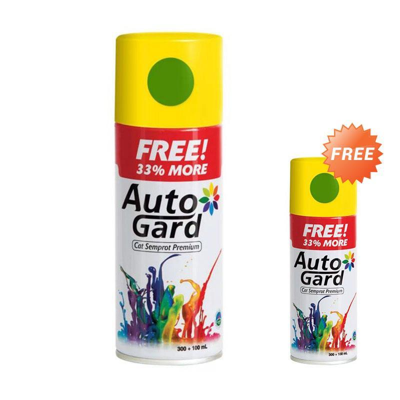 Buy 1 Get 1 Autogard AG-KA83 Cat Semprot untuk Kawasaki- Lime Green Solid [300ml]