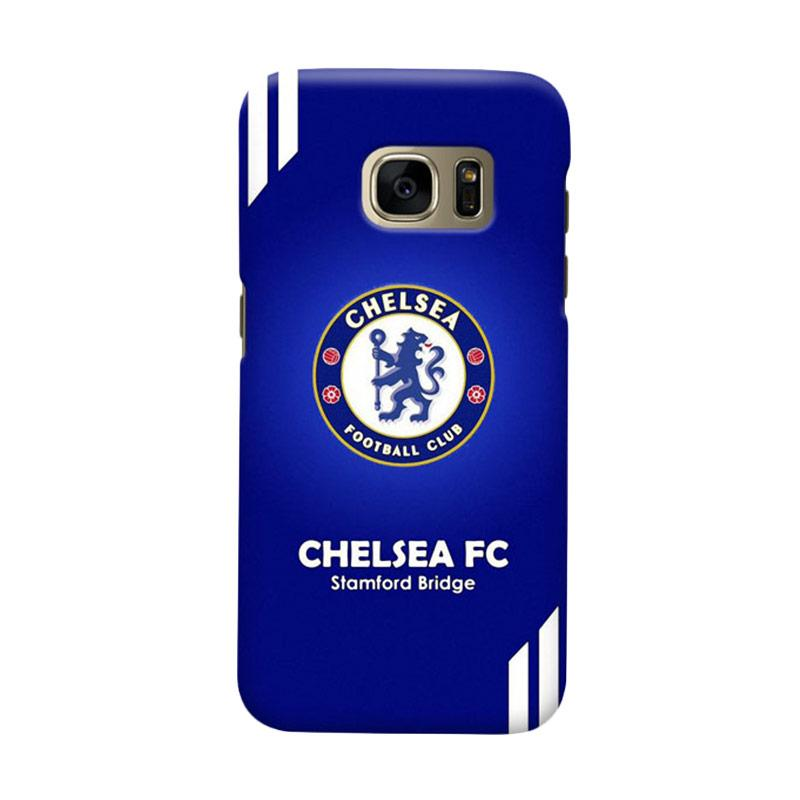Indocustomcase Chelsea FC CFC07 Cover Casing for Samsung Galaxy S7