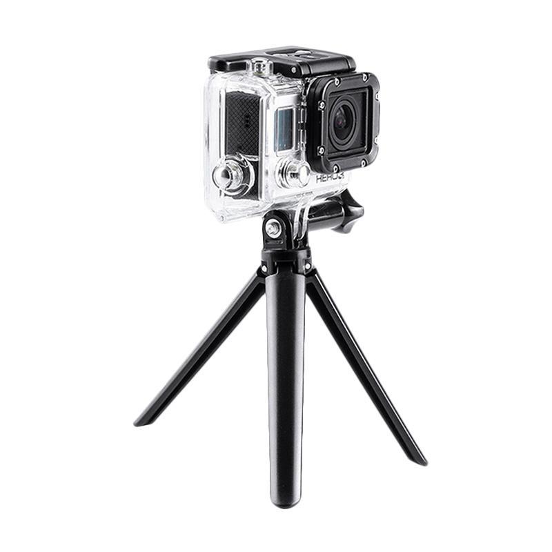 Action Cam 3 Way Grip Arm Tripod for GoPro/Brica B-PRO/Xiaomi Yi - Hitam