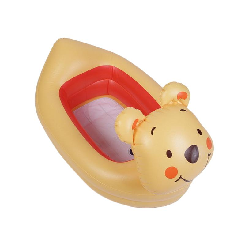 Chloe Babyshop Munchkin Inflatable Safety Pooh S210 Bak Mandi - Yellow