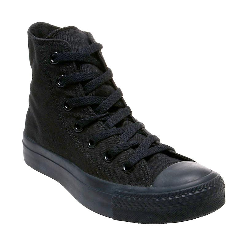 harga Converse CT As Canvas High Full Black Made in Indonesia Sepatu Pria - Hitam Blibli.com