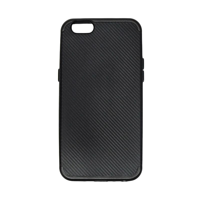 AIMI Neo Hybrid Series Polycarbonate Softcase Backcase Casing for Oppo A57 - Black