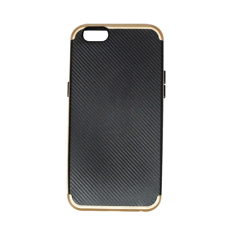AIMI Neo Hybrid Series Polycarbonate Softcase Backcase Casing for Oppo A57 - Gold