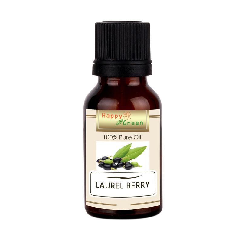 Happy Green Laurel Berry Fruit Oil [10 mL] - Minyak Laurel Berry Murni