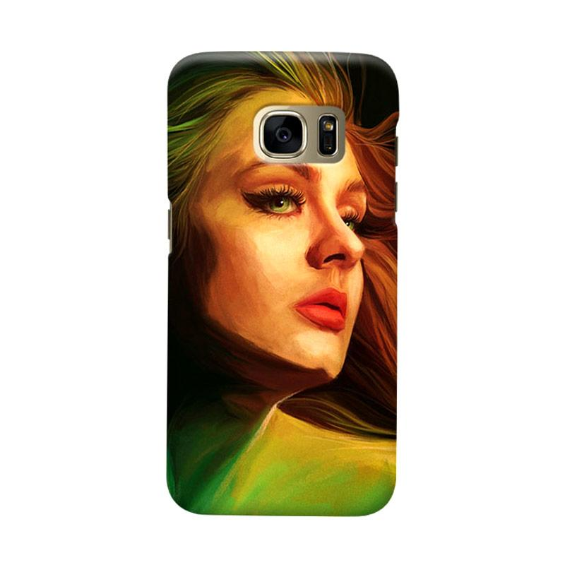 Indocustomcase Adele Cover Casing for Samsung Galaxy S7 Edge