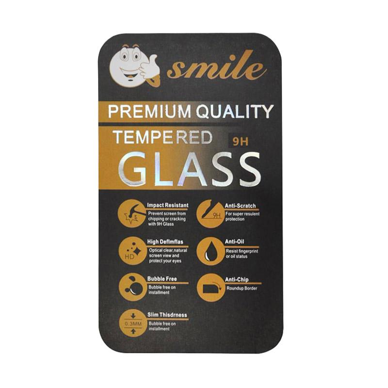 SMILE Tempered Glass Anti Gores Screen Protector for Blackberry Z30 - Clear