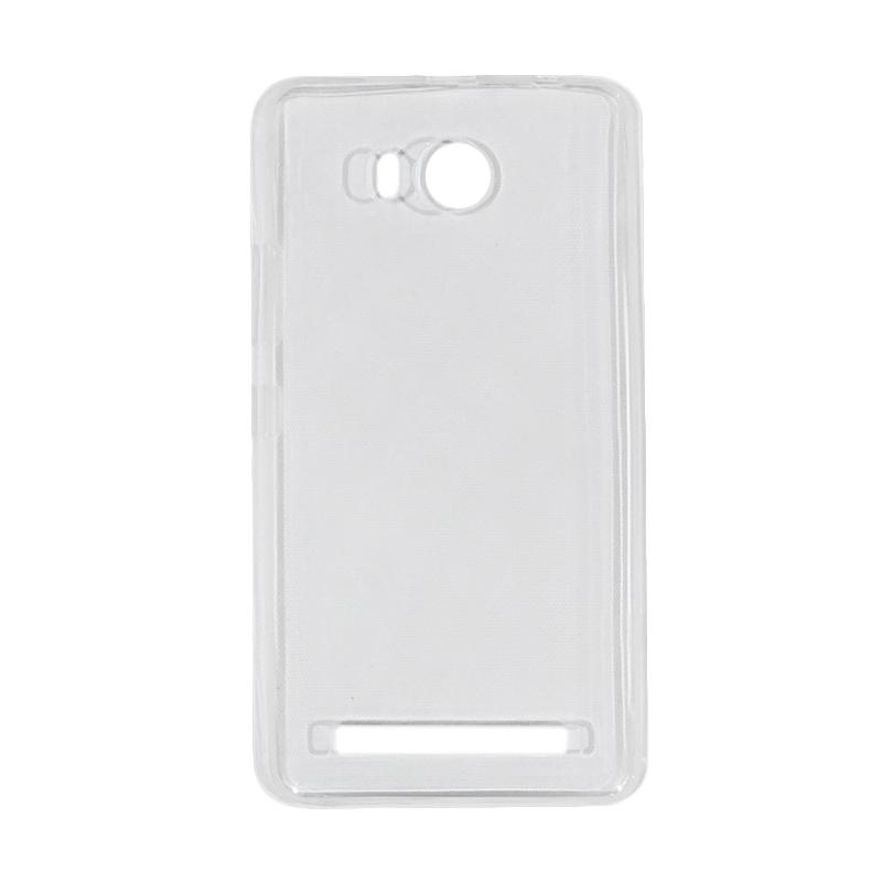 VR UltraThin Silicone Jellycase Softcase Casing for Lenovo A7700 - Transparan