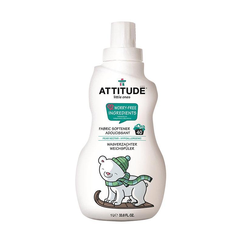 Attitude Fabric Softener Pear Nectar Deterjen & Pelembut Pakaian [1 L/40 Loads]