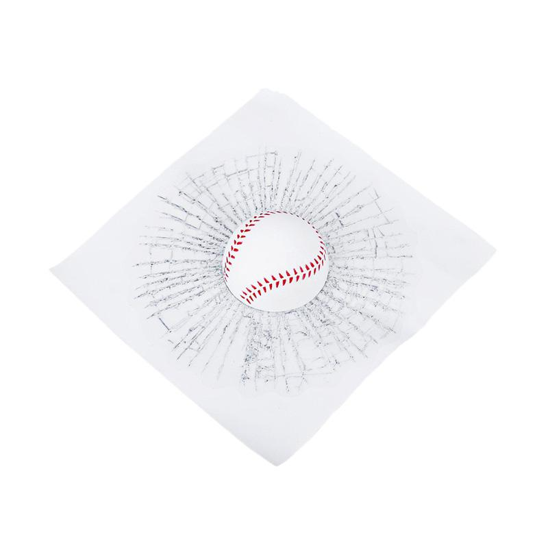 Universal Bola Baseball Stiker 3D untuk Kaca Mobil