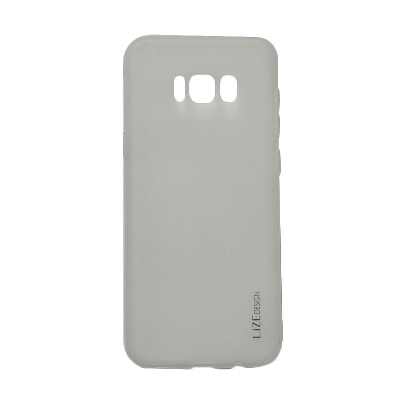 Lize Candy Case Style Softshell Softcase Casing for Samsung Galaxy S8 Plus - Transparan
