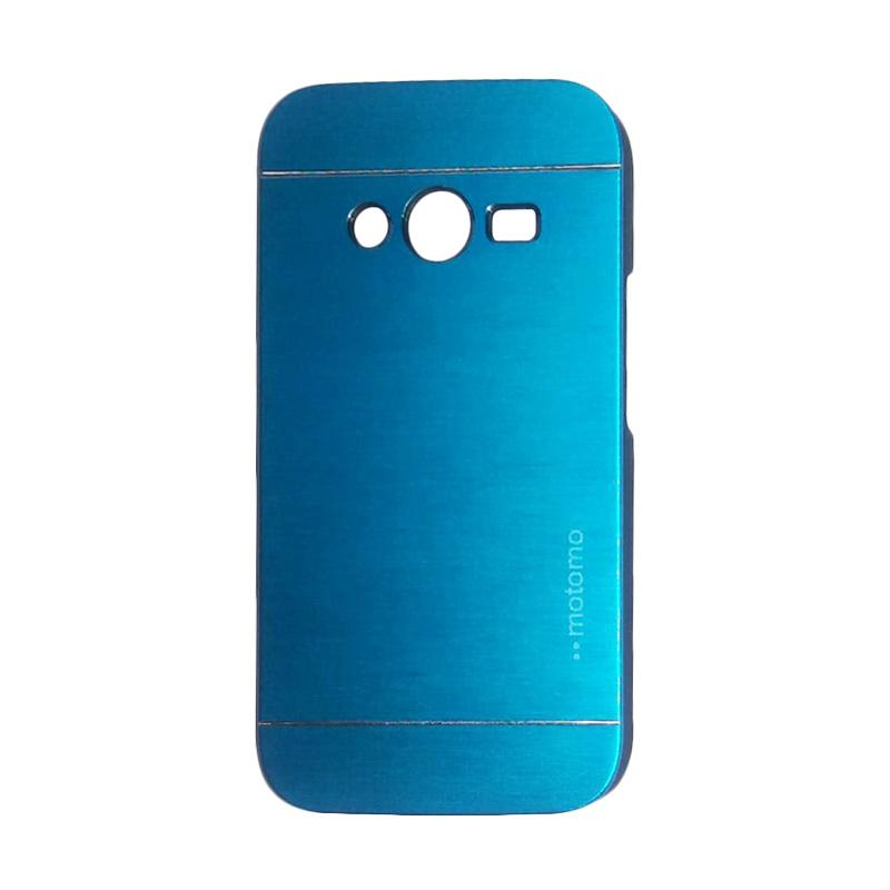 Motomo Metal Hardcase Backcase Casing for Samsung Galaxy Ace 4 or G313 - Sky Blue