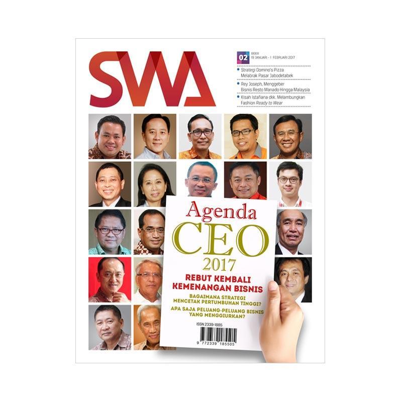 SWA Edisi 02/2017 Agenda CEO 2017 Rebut Kembali Kemenangan Bisnis Majalah [19 Januari- I Februari 2017]