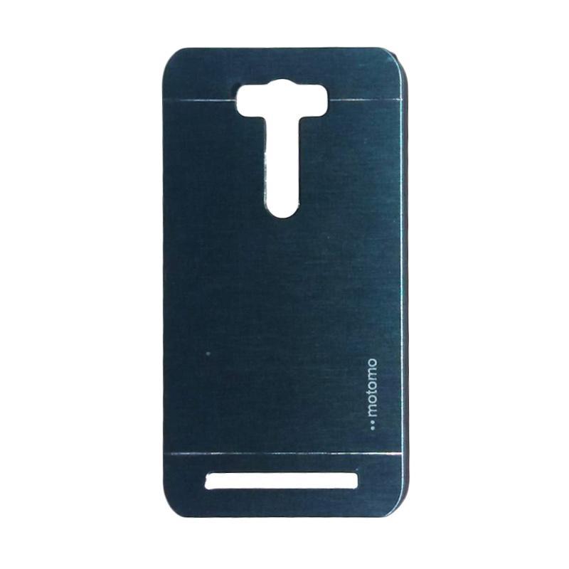Motomo Metal Hardcase Casing for Asus Zenfone 2 Laser ZE601KL 6.0 Inch - Dark Blue