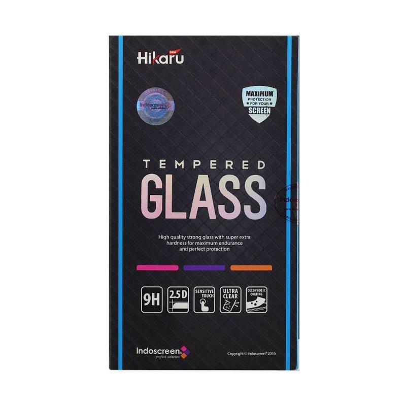 Hikaru Tempered Glass Screen Protector for iPhone 6 Plus - Black [Fullset]