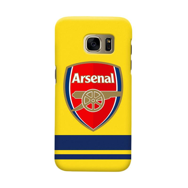 Indocustomcase Arsenal FC AFC10 Cover Casing for Samsung Galaxy S6