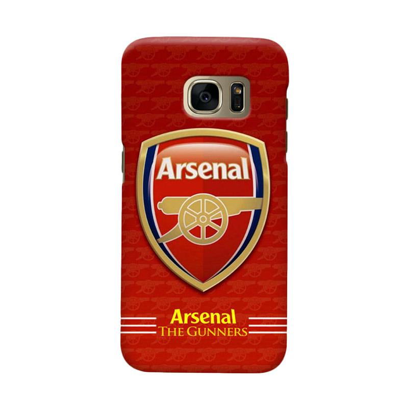 Indocustomcase Arsenal FC AFC11 Cover Casing for Samsung Galaxy S6