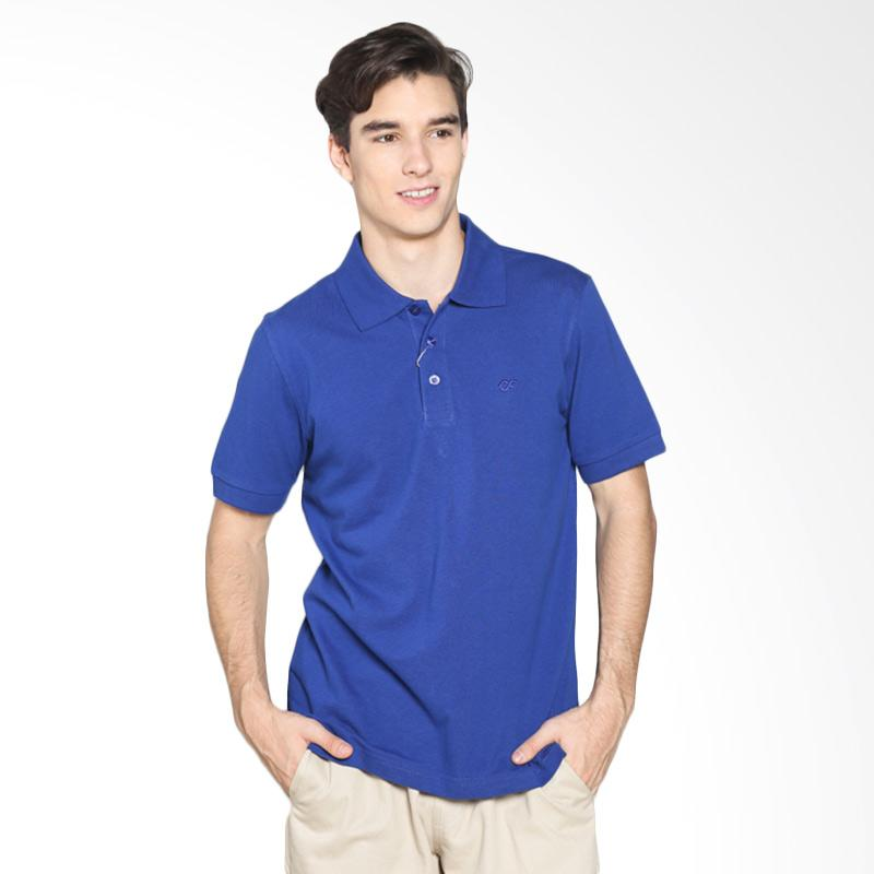 Country Fiesta PPLXS43511 Mens Polo Polo Lacoste - Electric Blue