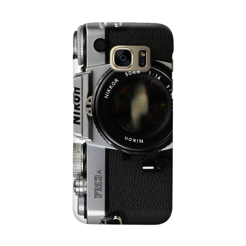 Indocustomcase FM3 Camera Cover Casing for Samsung Galaxy S7