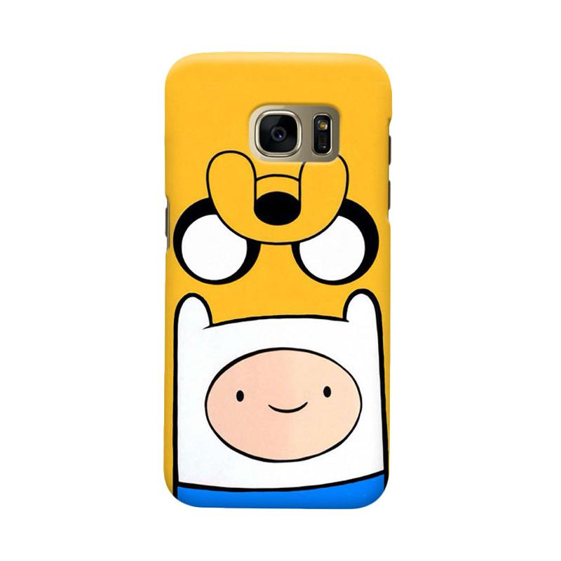 Indocustomcase Jake Finn Cover Casing for Samsung Galaxy S7 Edge