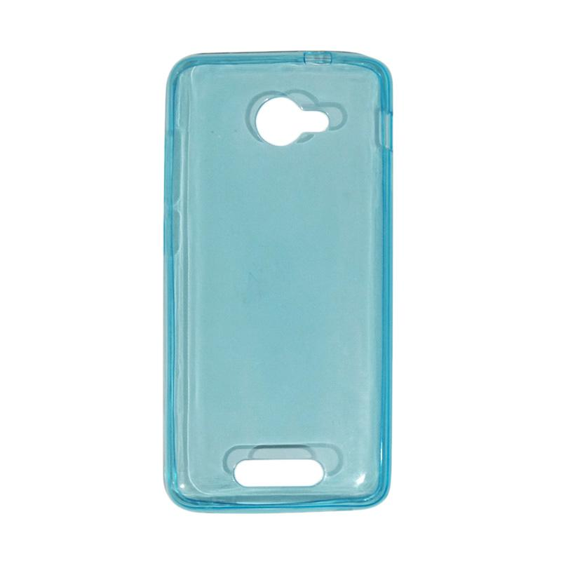 VR Ultrathin Silicone Jelly Softcase Casing for Smartfren Andromax B - Blue