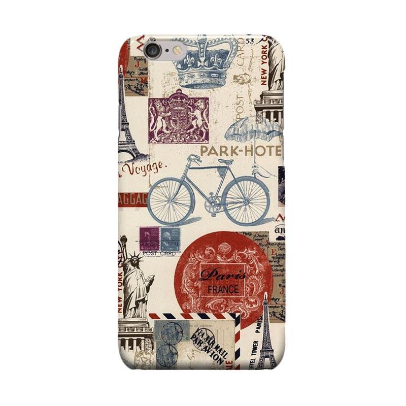 Indocustomcase Paris Casing for Apple iPhone 6 Plus or 6S Plus