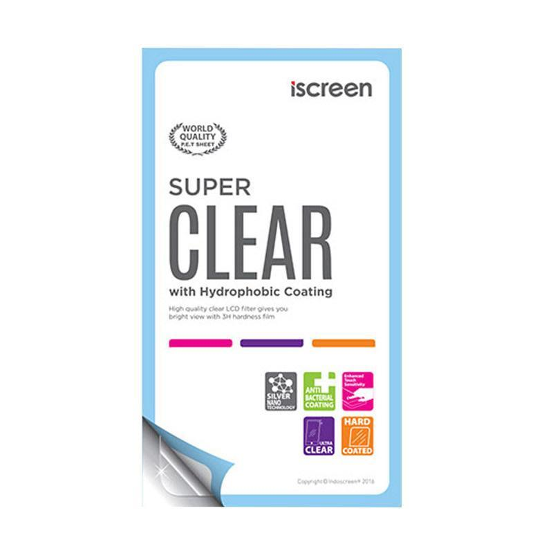 indoScreen iScreen Anti Gores Screen Protector for SONY Xperia Z3 Compact - Clear [Fullset]