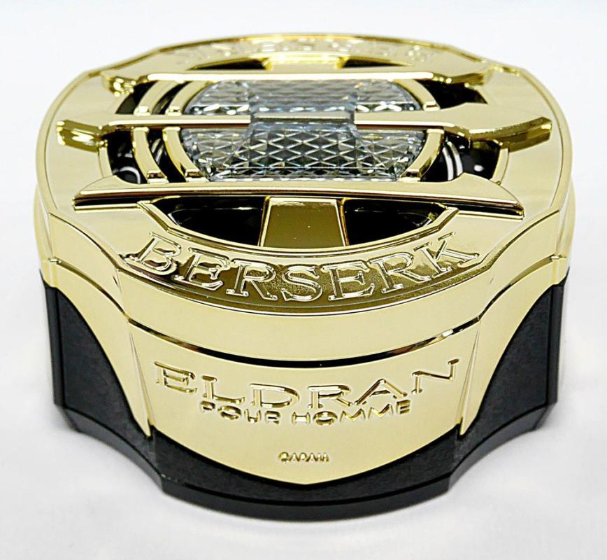 Carall 3053 Eldran Berserk Gold Car Air Freshener Parfum Mobil - Platinum Shower