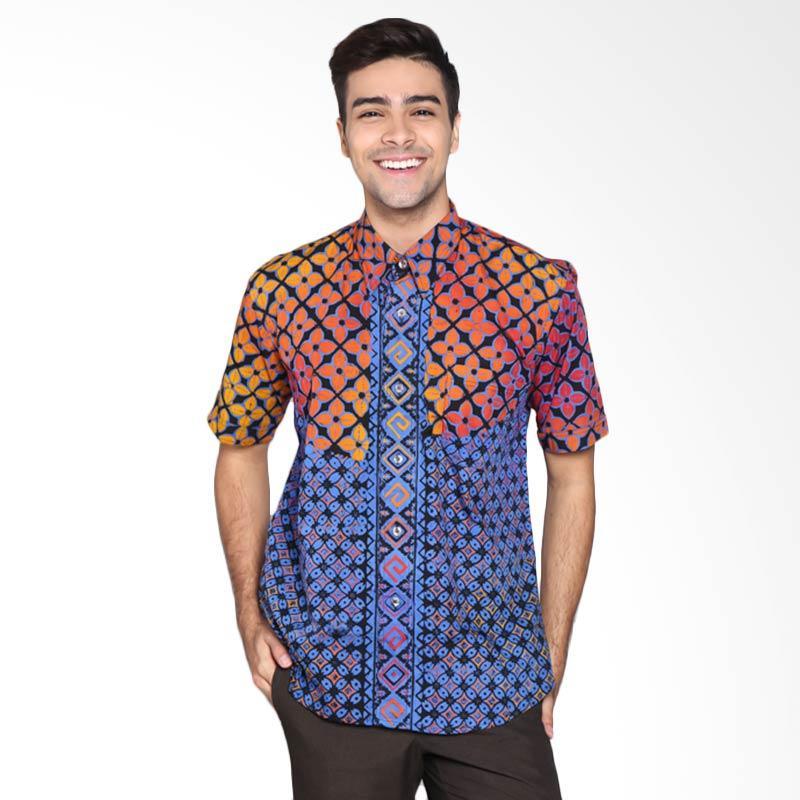 Batik Pria Tampan PKMPD-04081676C-Multi Men Pastadenia Shirt Batik Pria