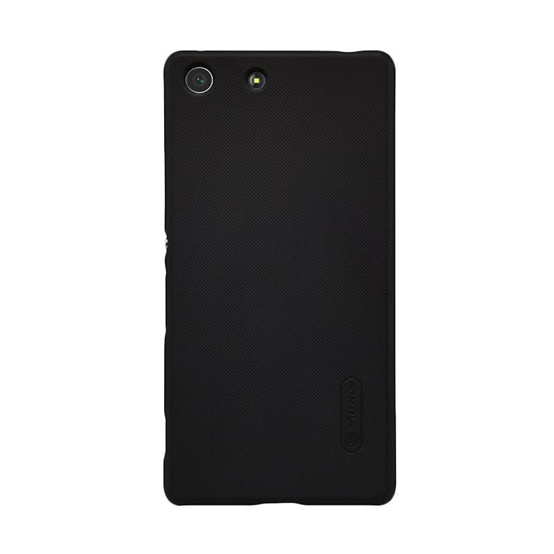 Nillkin Original Super Shield Hardcase Casing for Sony Xperia M5 - Black [1mm]