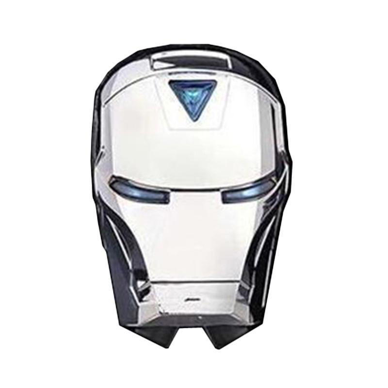 harga Apan Ironman Sinar LED Garis Tail Light Safety Lampu Laser Belakang Sepeda - Biru Blibli.com