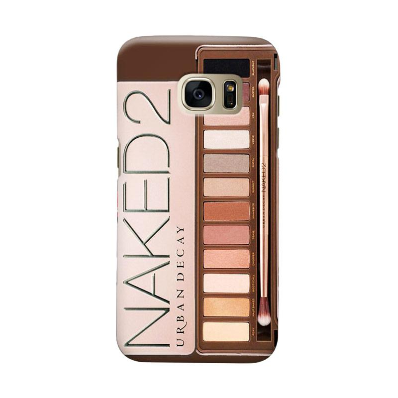 Indocustomcase Naked 2 Cover Casing for Samsung Galaxy S6 Edge