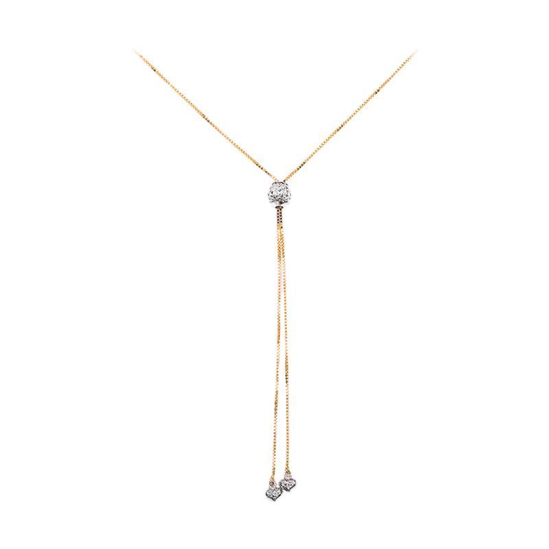 Medallion Kalung Emas Kadar 75 -  Gold Necklace-WHIZLIZ