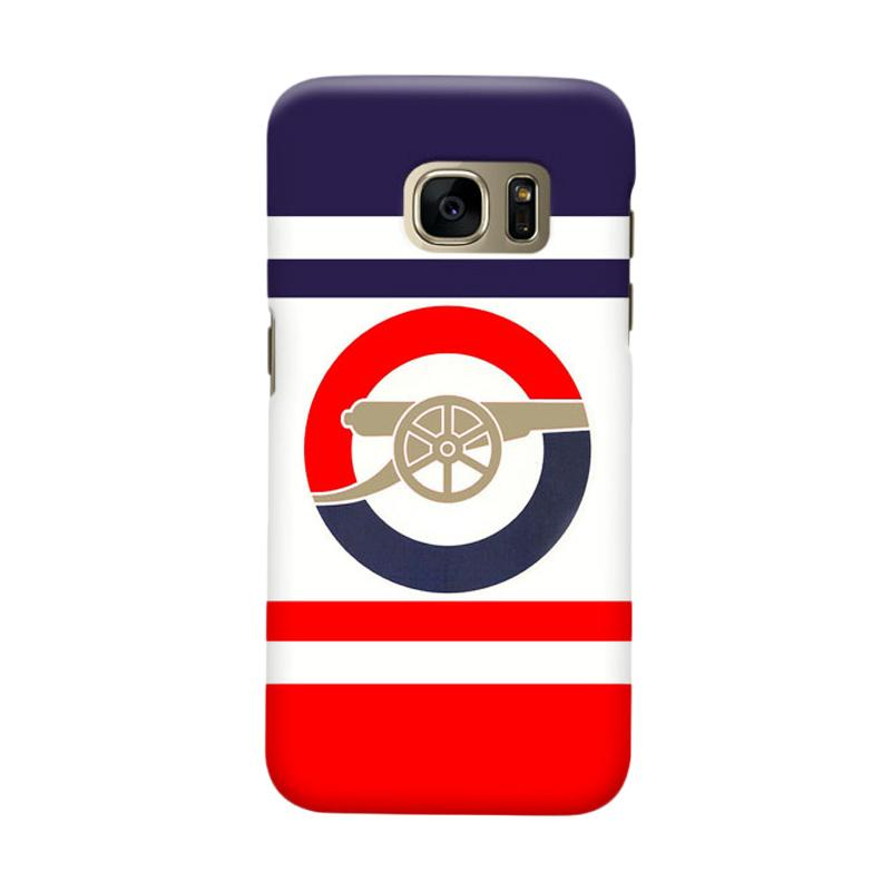 Indocustomcase Arsenal FC AFC08 Cover Casing for Samsung Galaxy S6