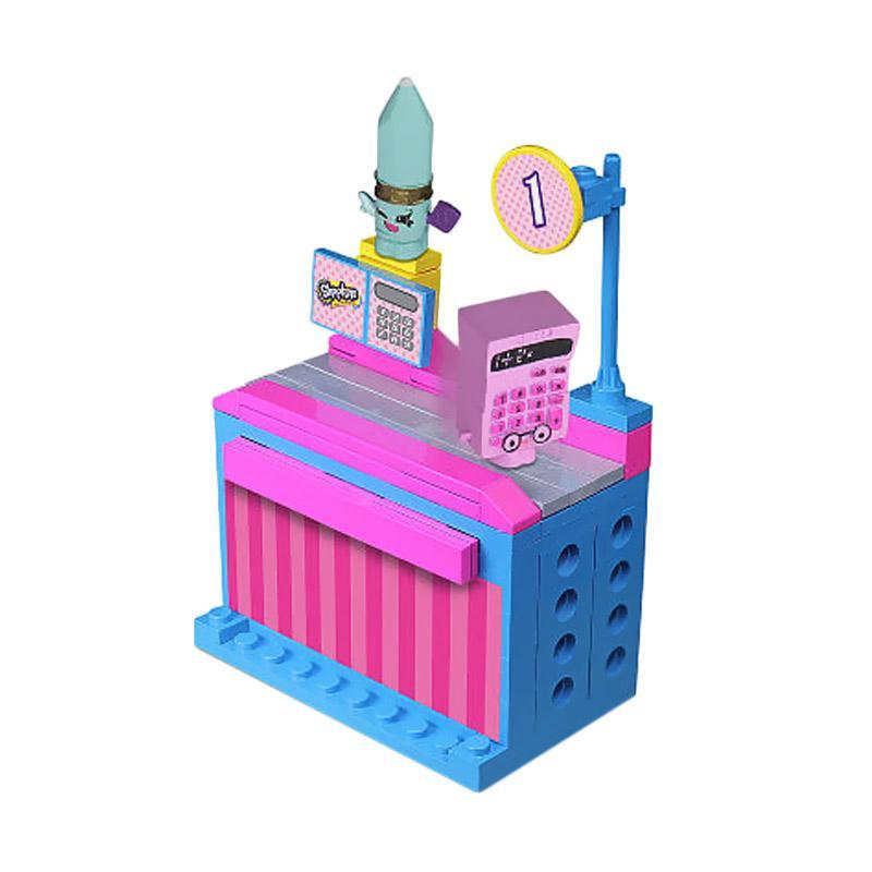 Shopkins Kinstructions Checkout Lane Brick Blocks & Stacking Toys