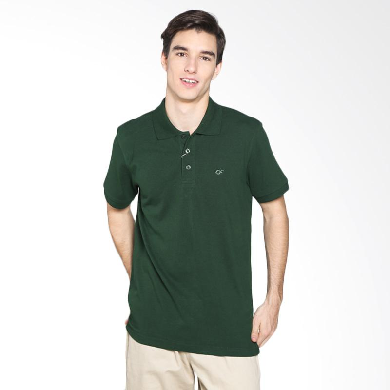 Country Fiesta PPLXS44343 Mens Polo Polo Lacoste - Green Bottle