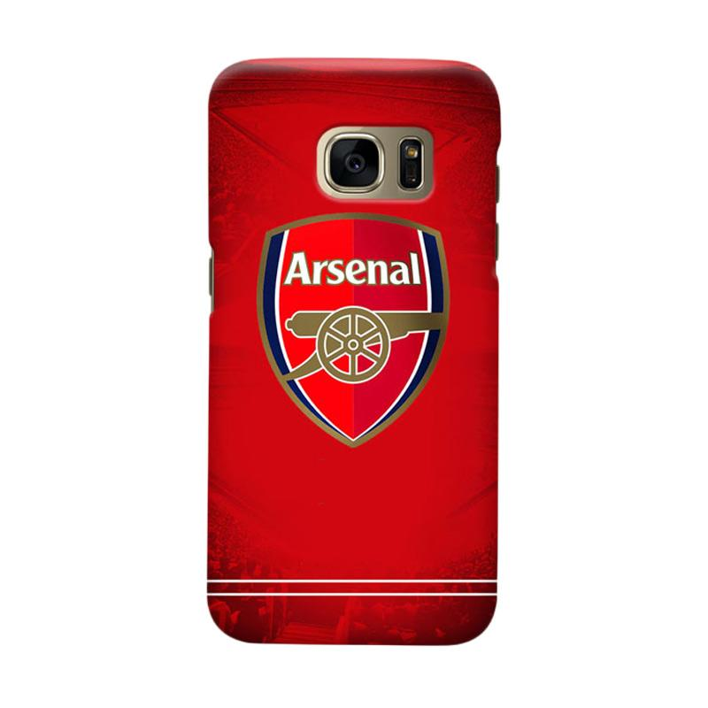 Indocustomcase Arsenal FC AFC09 Cover Casing for Samsung Galaxy S6