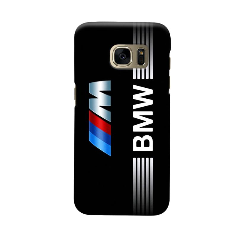 Indocustomcase BMW Logo Cover Casing for Samsung Galaxy S6 Edge