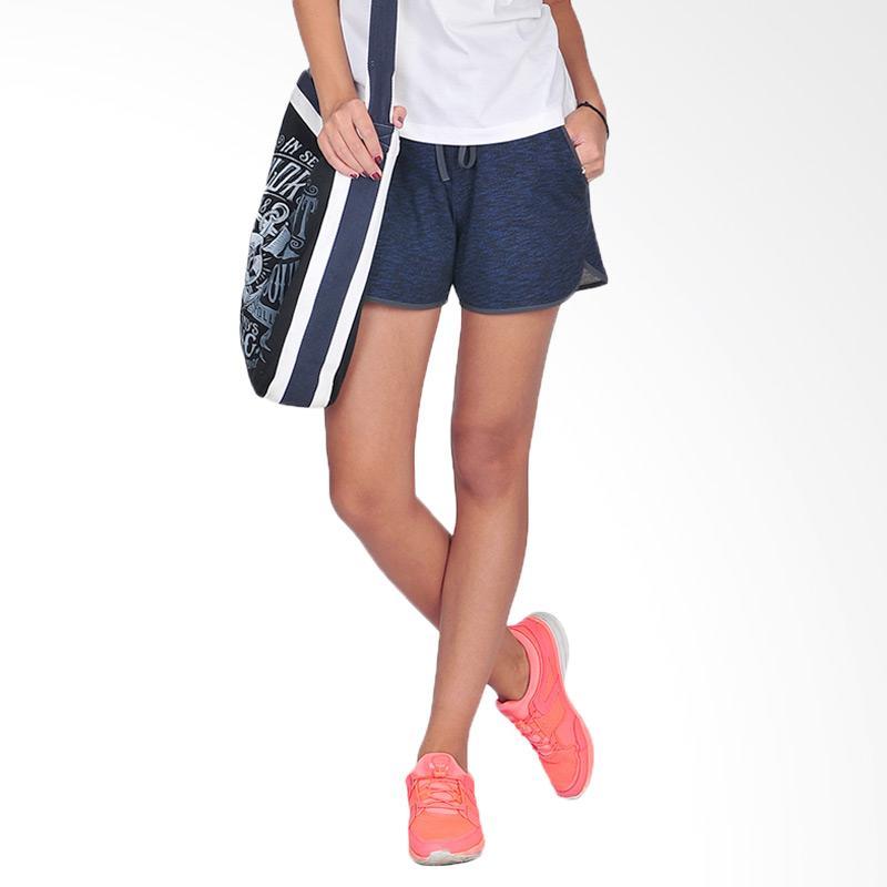 SJO & SIMPAPLY Rastina Women's Shorts Celana Pendek Wanita - Navy