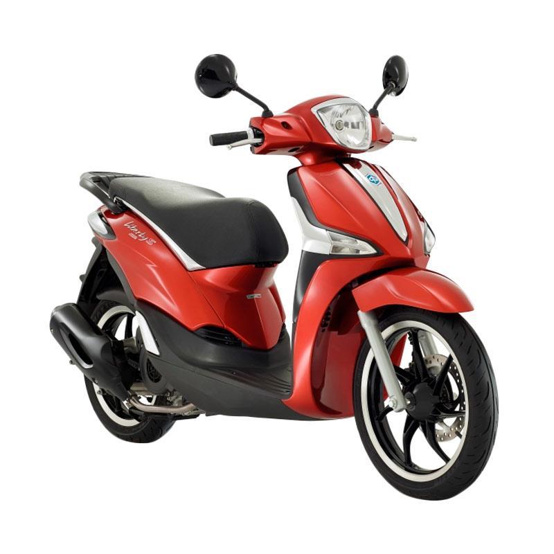 harga Vespa Piaggio New Liberty 150 ABS S i-Get Sepeda Motor - Rosso Ibis [OTR Bandung] Blibli.com