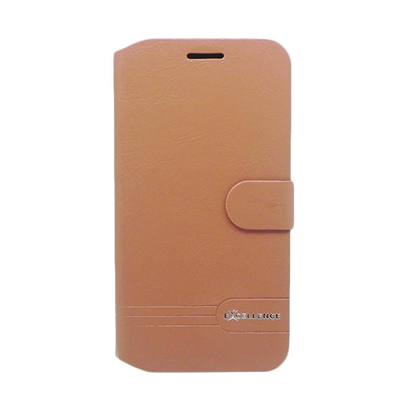 Excellence Dragonite Flipcase Casing for Asus Zenfone Max ZC550KL - Brown