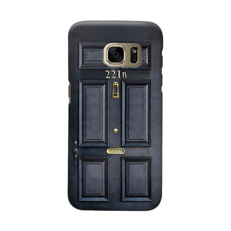 Indocustomcase Door Cover Casing for Samsung Galaxy S6 Edge