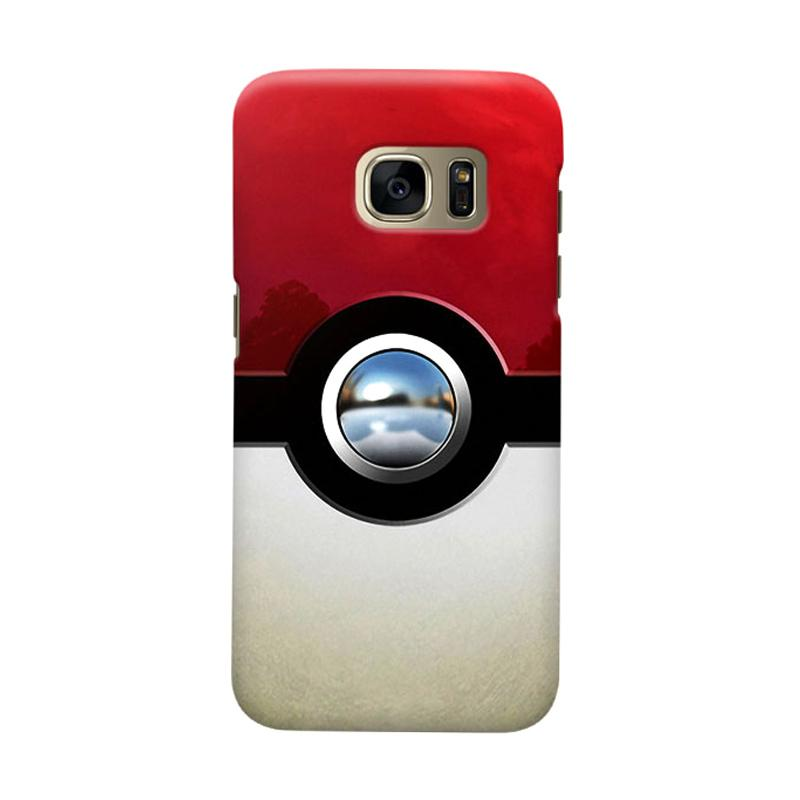 Indocustomcase PokeBall Cover Casing for Samsung Galaxy S6