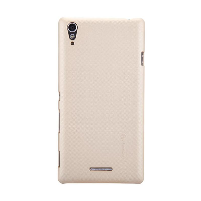 Nillkin Super Shield Original Hardcase Casing for Sony Xperia T3 - Gold [1 mm]