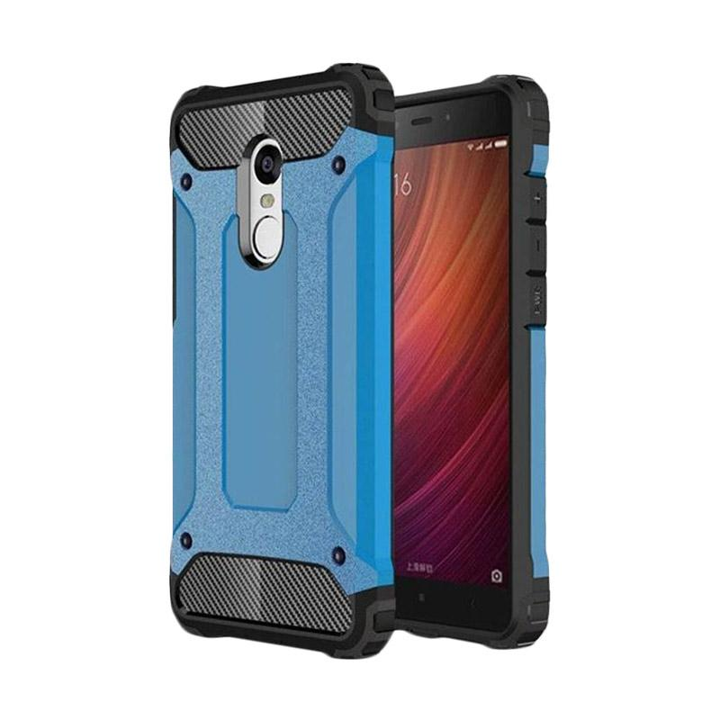 OEM Transformers Iron Robot Hardcase Casing for Xiaomi Redmi Note 3 - Blue