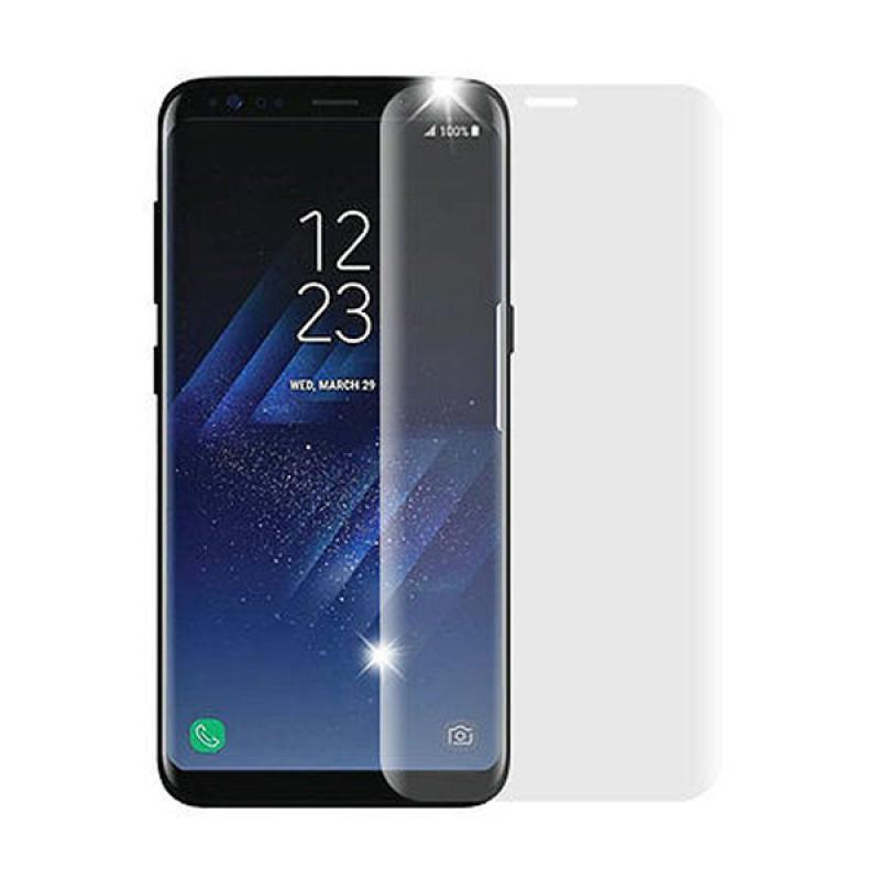 VR Tempered Glass Screen Protector for Samsung Galaxy S8 - Clear [Full Cover]